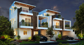 4BHK Villas and Plots for sale in Yelahanka, Bangalore at Lake Mist. | Apartments, Villas, Plots & Lands | Scoop.it