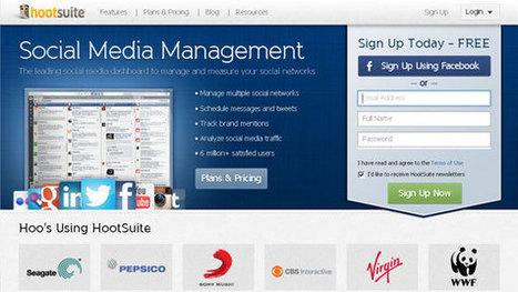 5 Tactical Tools for Social Media Management | Social Media Networking | Scoop.it