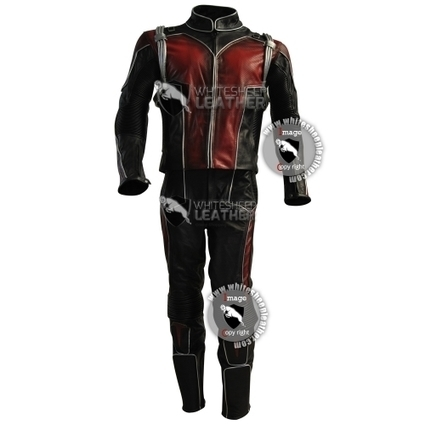 Scott Lang Ant-Man leather costume suit | movie leather jackets | Scoop.it