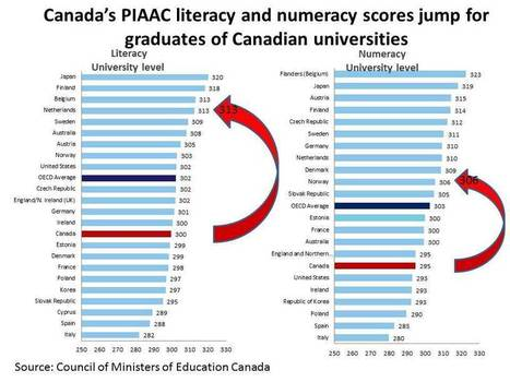 Margin Notes | A second look at Canada's adult literacy and numeracy skills | University Affairs | Adult Basic Skills and Literacy Reading | Scoop.it