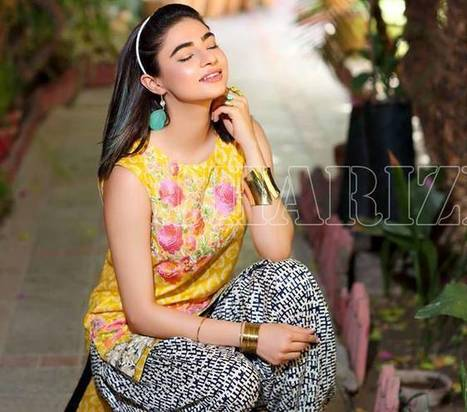 Latest Charizma Embroidered Lawn Belle 2 Piece Eid Dresses Collection 2016 | Live Style Vogue | stylish lawn dresses | Scoop.it