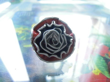 bijou fantaisie bague capsules de café  : Bague par bijbox | bij - box ( bijoux à partir de capsules nespresso) | Scoop.it