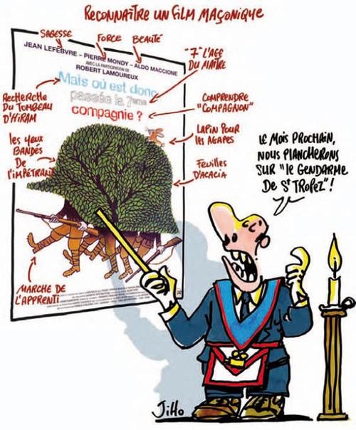 """Résultat de recherche d'images pour """"franc maçonnerie humour"""""""