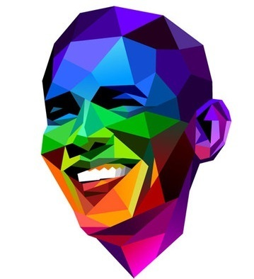 Obama shows his gay pride in new viral image | LGBT Times | Scoop.it