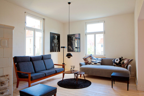 Happy Interior Blog: Design Apartment To Rent In Germany | Design | Scoop.it