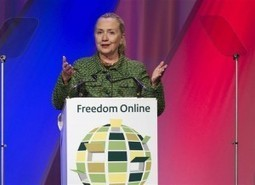 Clinton Condemns Her Own Government's Internet Policy - Hit & Run : Reason Magazine | sociology of the Web | Scoop.it