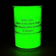 Ultra Green V10 Glow in the Dark Paint | education4all | Scoop.it