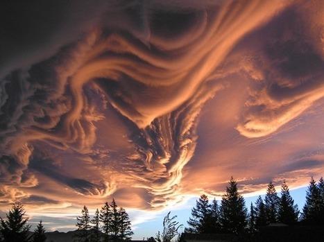 Undulatus asperatus, un nuage incroyable photographié en Nouvelle-Zélande | Un peu de tout et de rien ... | Scoop.it