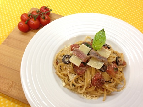 Spaghetti alla Puttanesca | Foodies | Scoop.it