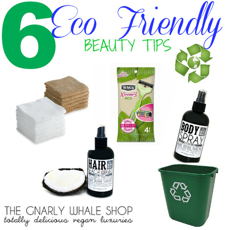 Six Eco-Friendly Beauty Tips - The Gnarly Whale Blog | personal care and sanitation | Scoop.it