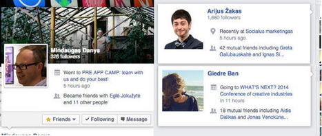Facebook rolls out more descriptive hover cards - Inside Facebook | MarketingHits | Scoop.it