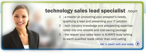 Outsource Lead Generation Services for IT Companies | B2B Outbound Telemarketing Tips in Malaysia | Scoop.it