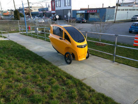 Electric Tricycle Sharing Coming Soon to Vancouver | Peer2Politics | Scoop.it