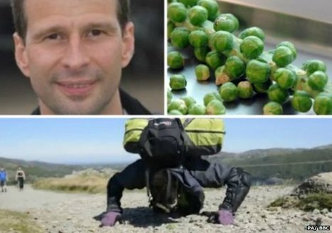 Man pushing sprout up mountain with his nose | Quite Interesting News | Scoop.it