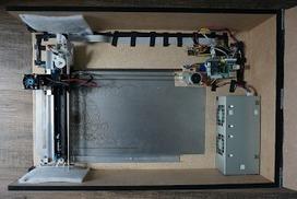 am1337: DIY Laserplotter based on Raspberry Pi | Arduino, Netduino, Rasperry Pi! | Scoop.it