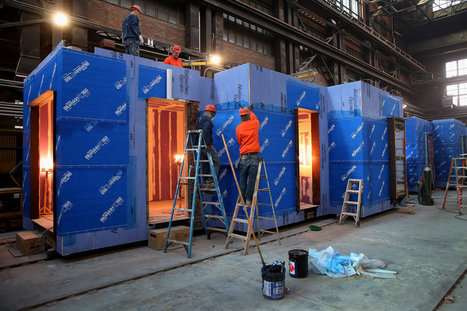 New York's First Micro-Apartments, Prefabricated in Brooklyn   Housing and Lodging   Scoop.it