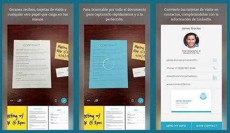 4 aplicaciones gratuitas para escanear documentos desde tu smartphone | e-Learning, Diseño Instruccional | Scoop.it