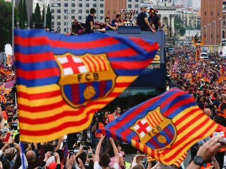 Barcelona fans have been banned from waving pro-Catalan flags | REPUBLIC OF CATALONIA TIMES | Scoop.it