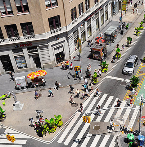 Before & After: New York City's 25 Most Transformative Road Diets | green streets | Scoop.it