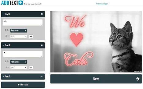 AddText: crea online impresionantes imágenes con texto | Grupo PLE Vigo | Scoop.it