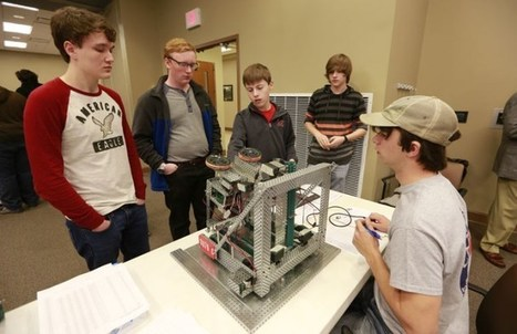 Robotics competition draws area students to ICCal | STEM Studies | Scoop.it