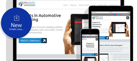Pro Auto Manager New Website Launch! - Digital Marketing for Automotive Dealerships | Pro Auto Manager Blog | Auto Management Websites for Used Car Dealers in Canada | Scoop.it