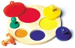 Circle Sorter Wood Puzzle by Guidecraft   Educational Board   Scoop.it