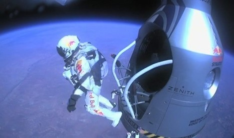 Fall 40 Kilometers to Earth in a POV Video from Felix Baumgartner's Helmetcam | Planets, Stars, rockets and Space | Scoop.it