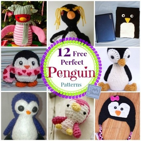 12 Free Perfect Penguin Crochet Patterns | Free crochet patterns and tutorials | Scoop.it