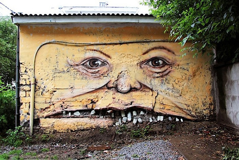 Street Art : quand les murs ont des visages. | Yumington Magazine | Scoop.it