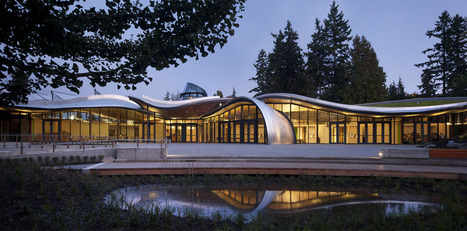 Visitor Centre at Vancouver Botanical Garden Features Undulating Green Roof | Vertical Farm - Food Factory | Scoop.it