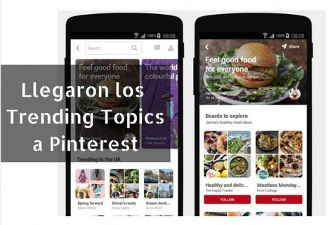 Pinterest tiene su propia versión de Trending Topics | Marketing en la Ola Digital | Scoop.it