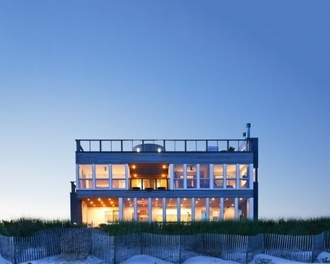 Extravagant Beach House in Four Square Design - WBTOURISM | Beautiful Beach Houses | Scoop.it