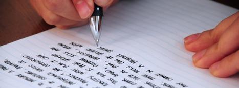 Escribimos… pero ¿sabemos cómo hacerlo? ( II Parte) | Literatura | Scoop.it