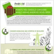 Points You Should Consider While Hiring Android Developer [Infographic]   Apps   Scoop.it