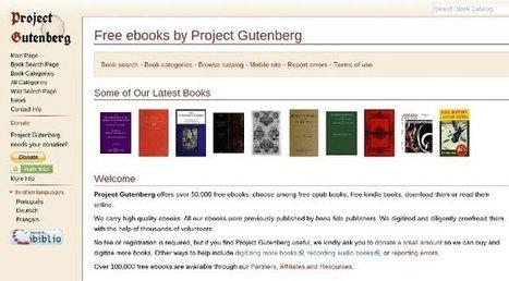 Descargar ebooks gratis en español y otros idiomas | WEB 2.0 | Scoop.it