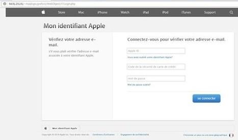 Arnaque : un faux mail soi-disant signé par Apple | Communication et réseaux | Scoop.it