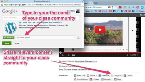 Create a Classroom or School Google+ Community | Google Plus for learning | Scoop.it