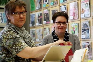 Jämsän Seutu | Kirjaston uudet palvelut sopivat myös huonomuistiselle | E-kirjat | Scoop.it