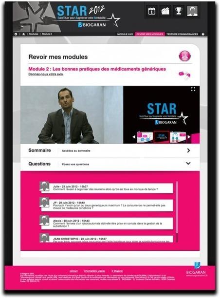 Biogaran STAR La plateforme e-learning de référence pour apprendre aux pharmaciens à mieux substituer - ViewOn | Veille Pharma | Scoop.it