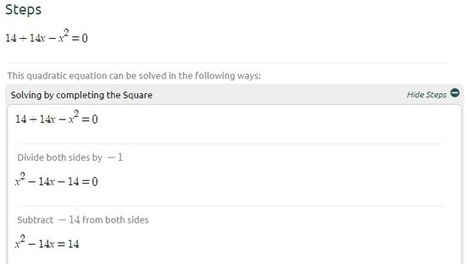 Symbolab: Un moteur de recherche des solutions mathématiques | Outils, logiciels et tutos : de la curiosité à l'indispensable | Scoop.it