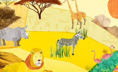 Le Voyage d'Adeline la girafe | francetv éducation | -thécaires | Espace jeunesse | Scoop.it