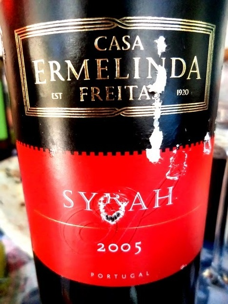Pingamor: Terras do Sado / Casa Ermelinda Freitas Syrah tinto 2005 | @zone41 Wine World | Scoop.it