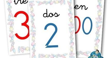 RECURSOS PRIMARIA | Cartelería para trabajar numeración ~ La Eduteca | FOTOTECA INFANTIL | Scoop.it