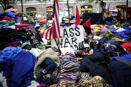 Occupy Wall Street and a battle over PR prize for the protest movement | Public Relations & Social Media Insight | Scoop.it