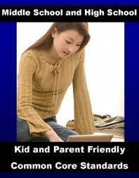 Kid And Parent Friendly Common Core Standards For Middle School and High School ELA | 21st Century Learning | Scoop.it
