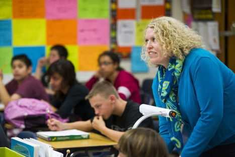 Lodi Middle teacher Paige Blevins is LUSD teacher of the year - Lodi News-Sentinel   College Culture for High School Students   Scoop.it