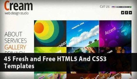 45 plantillas HTML5 gratis para uso personal o comercial | Musicasa | Scoop.it