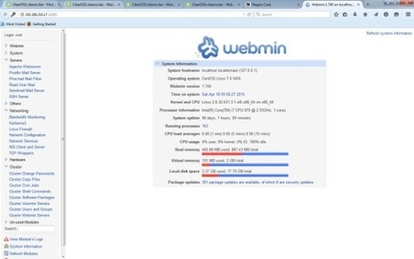 How to Install Webmin on CentOS 7 / RHEL 7 - Pir8g33k | Pir8g33k | Scoop.it