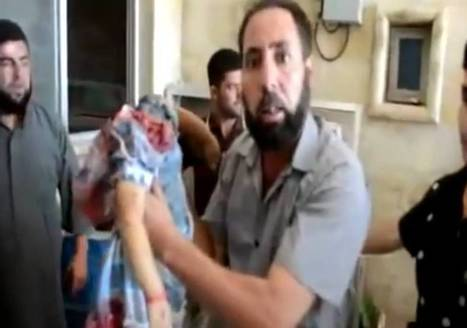(Graphic) Muslim trophy in Syria: lifeless body of decapitated Christian child | War Against Islam | Scoop.it